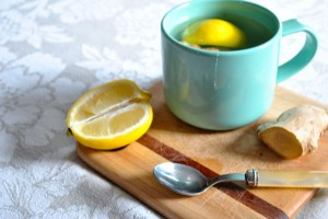 #Healthy hint: Lemon and ginger tea