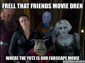 A #Farscape movie is actually happening. For real.